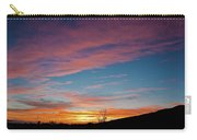 Saddle Road Sunset Carry-all Pouch