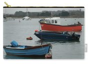 Safe Harbour On A Murky Day Carry-all Pouch