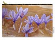Saffron Flowers Carry-all Pouch