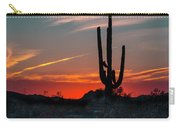 Sagauro Sunset Carry-all Pouch