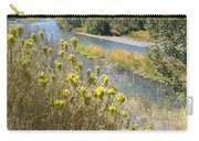 Sage Along The River Carry-all Pouch