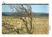 Sage Brush And Tumble Weed Carry-all Pouch