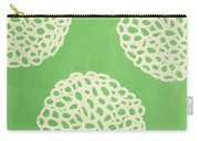 Sage Garden Bloom Carry-all Pouch by Linda Woods