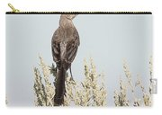 Sage Thrasher On Perch Carry-all Pouch