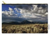 Sagebrush Before Sangre De Cristo Mountains Carry-all Pouch