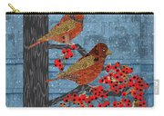 Sagebrush Sparrow Long Carry-all Pouch