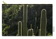 Saguaro Cactus Backlit Carry-all Pouch