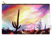 Saguaro National Monument Carry-all Pouch