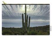 Saguaro Sun Break Clouds Carry-all Pouch