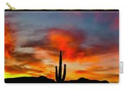 Saguaro Sunrise Carry-all Pouch
