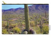 Saguaro With Down Twist Carry-all Pouch
