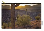 Saguaros At Sunset Carry-all Pouch