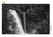 Sahalie Falls No. 4 Bw Carry-all Pouch