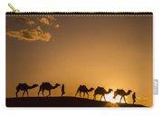 Sahara Desert Sunset Carry-all Pouch
