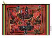Sahilas And Argars In Their Hammocks Carry-all Pouch