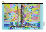 Sail Away Sunset Carry-all Pouch