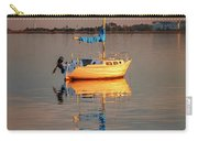 Sail Boat In Roanoke Sound 1x2 Ratio Photo Painting Img_3969 Carry-all Pouch