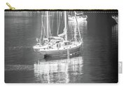 Sail Boat Yaht Parked At Harbor Bay Carry-all Pouch