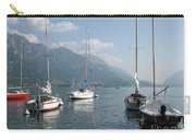 Sail Boats, Lake Como, Italy Carry-all Pouch