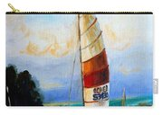 Sail Boats On The Lake Carry-all Pouch