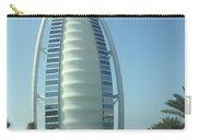 Sail-shaped Silhouette Of Burj Al Arab Jumeirah  Carry-all Pouch