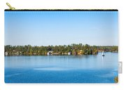 Sailboat And Cottages On Rocky Carry-all Pouch