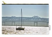 Sailboat And The Tappan Zee Bridge Carry-all Pouch