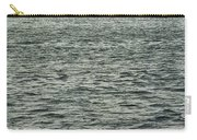 Sailboat And Waves, Piscataqua River, Maine 2004 Carry-all Pouch