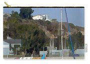 Sailboat At Anchor In Harbor Carry-all Pouch