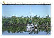 Sailboat At Dock Florida Carry-all Pouch