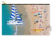 Sailboat At Waikiki Carry-all Pouch