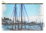 Sailboat Docked In Camden Carry-all Pouch