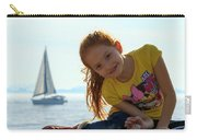 Sailboat Girl Carry-all Pouch