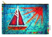 Sailboat In The Sun Carry-all Pouch