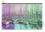 Sailboat Lineup - Watercolor Carry-all Pouch