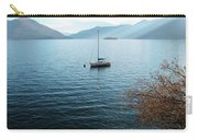 Sailboat On Lake Maggiore Carry-all Pouch