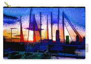 Sailboats At Rest Carry-all Pouch