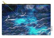 Sailboats In A Storm Carry-all Pouch