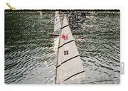 Sailboats In Central Park Carry-all Pouch