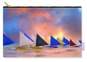 Sailboats On Boracay Island Carry-all Pouch