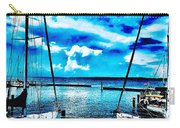 Sailboats Watching Weather Carry-all Pouch