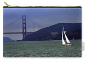 Sailing And The Golden Gate  Carry-all Pouch
