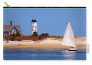 Sailing Around Sandy Neck Lighthouse Carry-all Pouch