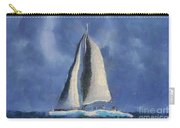 Sailing Away Carry-all Pouch