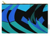 Sailing Blue - Left Carry-all Pouch