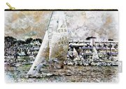Sailing Boat, Nautical,yachts, Seascape Carry-all Pouch