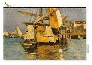 Sailing Boat On The Canale Della Giudecca Carry-all Pouch