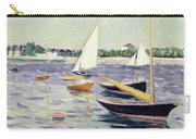 Sailing Boats At Argenteuil Carry-all Pouch