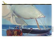 Sailing Boats Carry-all Pouch by Joaquin Sorolla y Bastida