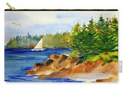 Sailing Downeast Carry-all Pouch